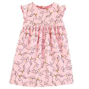 30% Off Bundles Carter's NWT Pink Unicorn Dress